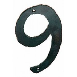 Handmade Forged Iron House number 2